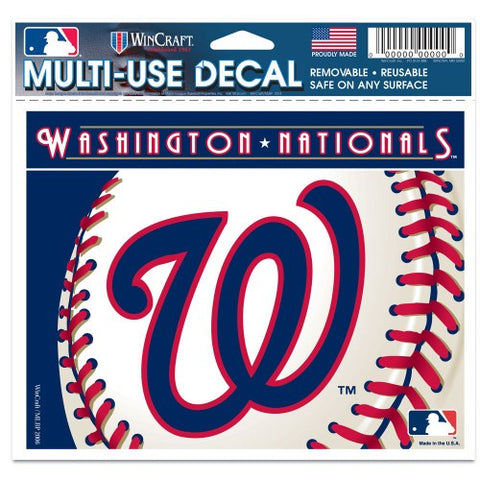 "Washington Nationals 5""x6"" Decal"