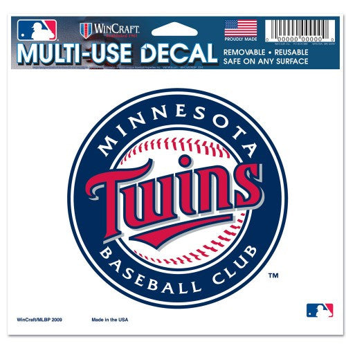 "Minnesota Twins 5""x6"" Decal"