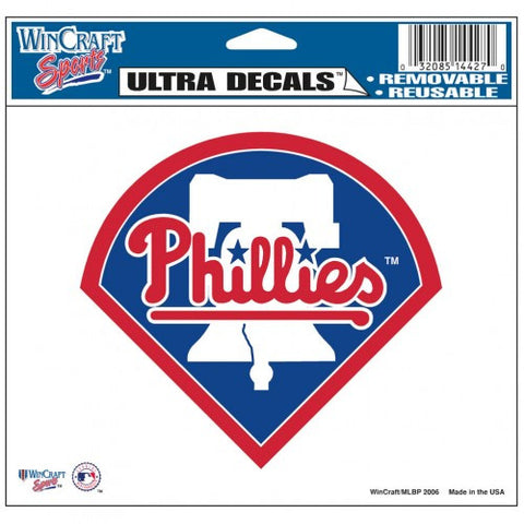 "Philadelphia Phillies 5""x6"" Decal"
