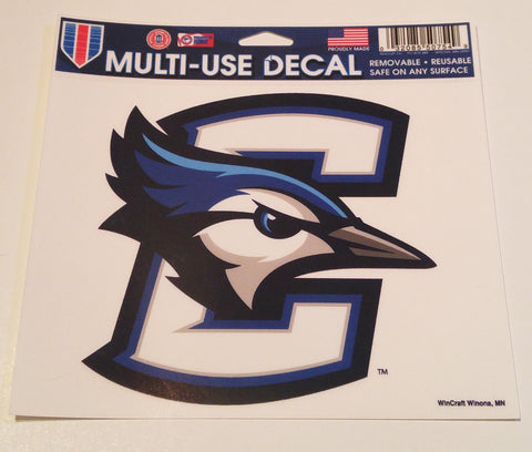 "Creighton Bluejays 5""x6"" Decal"