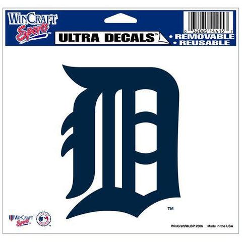 "Detroit Tigers 5""x6"" Decal"