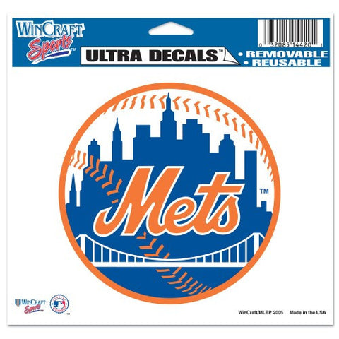 "New York Mets 5""x6"" Decal"