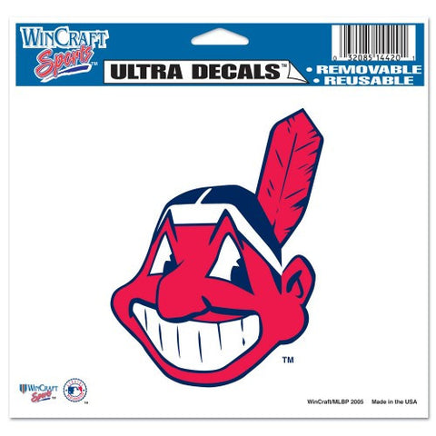 "Cleveland Indians 5""x6"" Decal"