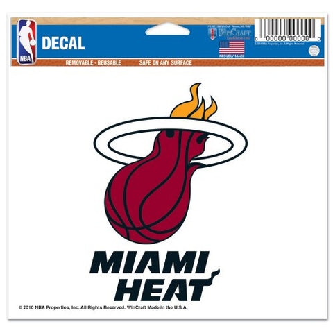 "Miami Heat 5""x6"" Decal"