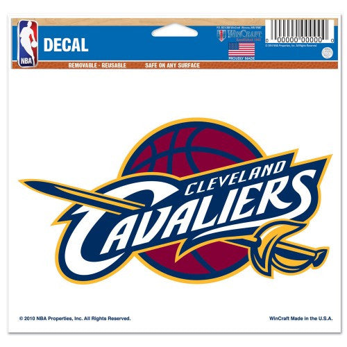 "Cleveland Cavaliers 5""x6"" Decal"