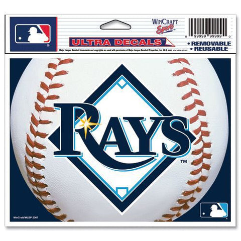 "Tampa Bay Rays 5""x6"" Decal"