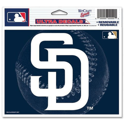 "San Diego Padres 5""x6"" Decal"