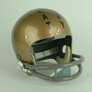 Navy Midshipmen 1963 Roger Staubach Beat Army Reproduction Vintage Full Size Helmet