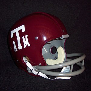 Texas A&M Aggies 1965-1971 Vintage Full Size Helmet