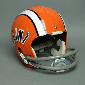 Illinois Fighting Illini 1971-1976 Vintage Full Size Helmet