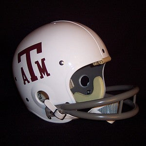Texas A&M Aggies 1972-1977 Vintage Full Size Helmet