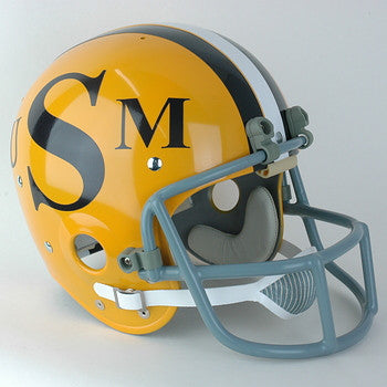 Southern Mississippi Golden Eagles 1972 Vintage Full Size Helmet