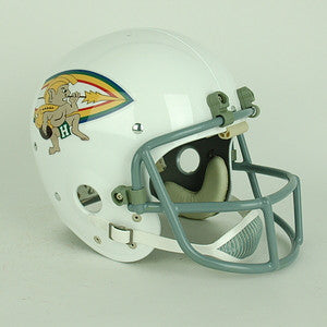 Hawaii Warriors 1974 Vintage Full Size Helmet