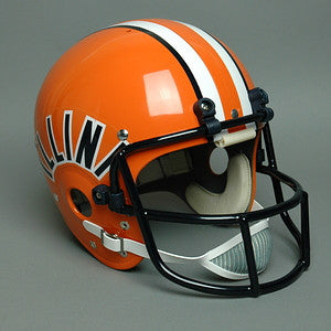 Illinois Fighting Illini 1977-1979 Vintage Full Size Helmet