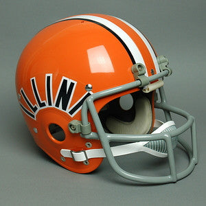Illinois Fighting Illini 1980-1982 Vintage Full Size Helmet