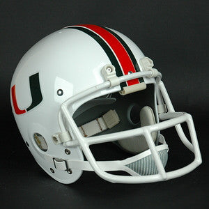 Miami Hurricanes 1984-Current Vintage Full Size Helmet
