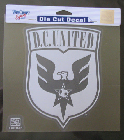 "D.C. United 8""x8"" White Decal"