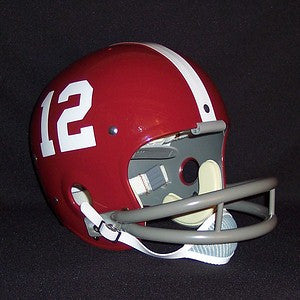 Alabama Crimson Tide Joe Namath Reproduction Vintage Full Size Helmet
