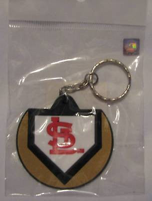 St. Louis Cardinals Home Plate Style Keychain