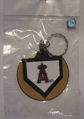 Los Angeles Angels Home Plate Style Keychain