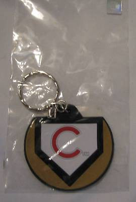 Chicago Cubs Home Plate Style Keychain