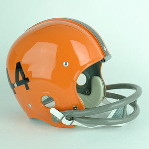 Syracuse Orange Ernie Davis Reproduction Vintage Full Size Helmet
