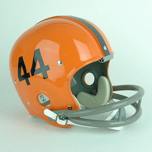 Syracuse Orange Floyd Little Reproduction Vintage Full Size Helmet