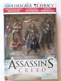Golden Age of Piracy 3 Pack Assassin's Creed McFarlane