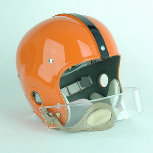 Syracuse Orange Jim Brown Reproduction Vintage Full Size Helmet
