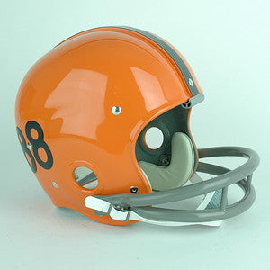 Syracuse Orange John Mackey Reproduction Vintage Full Size Helmet