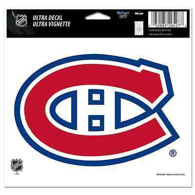 "Montreal Canadiens 5""x6"" Decal"