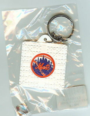New York Mets Base Style Keychain
