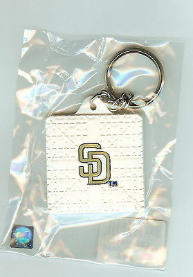 "San Diego Padres ""SD"" Base Style Keychain"