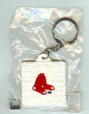 Boston Red Sox Base Style Keychain