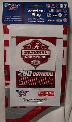 "Alabama Crimson Tide 2011 National Champions 27""x37"" Banner"