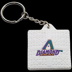Arizona Diamondbacks Base Style Keychain