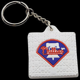 Philadelphia Phillies Base Style Keychain