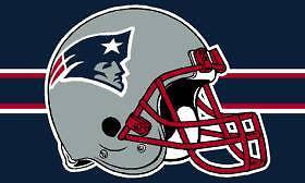 New England Patriots Helmet 3'x5' Flag