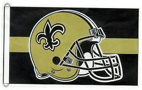 New Orleans Saints (Helmet) 3'x5' Flag