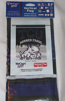 "TCU Horned Frogs 27""x37"" Banner"