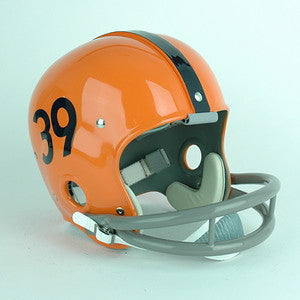 Syracuse Orange Larry Csonka Reproduction Vintage Full Size Helmet