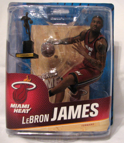 LeBron James Miami Heat McFarlane NBA Series 24
