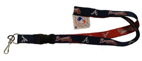 "Atlanta Braves 24"" Two Tone Breakaway Lanyard"
