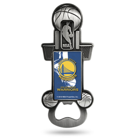 Golden State Warriors Party Starter Magnet Bottle Opener