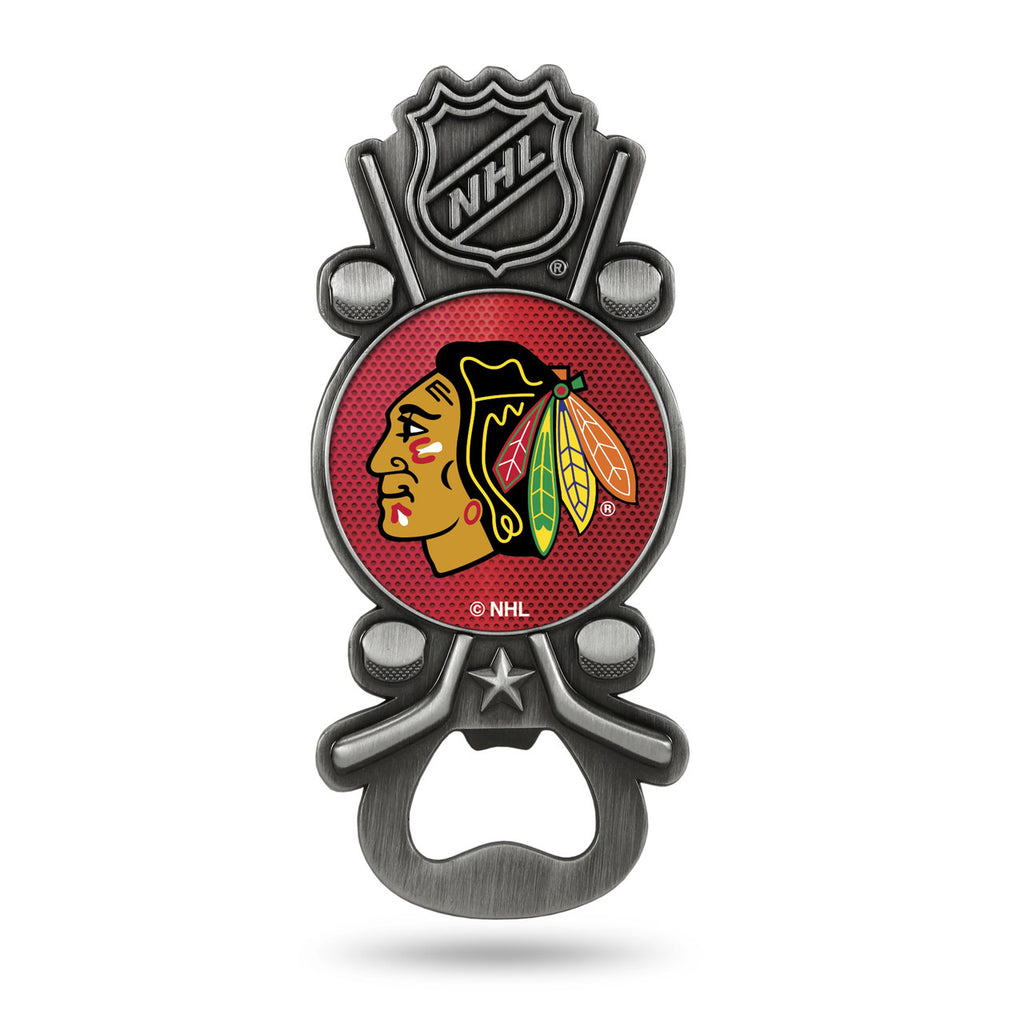 Chicago Blackhawks Party Starter Magnet Bottle Opener