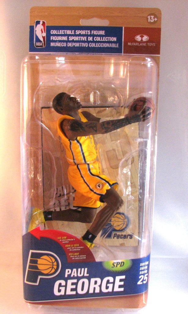 Paul George Indiana Pacers McFarlane NBA Series 25