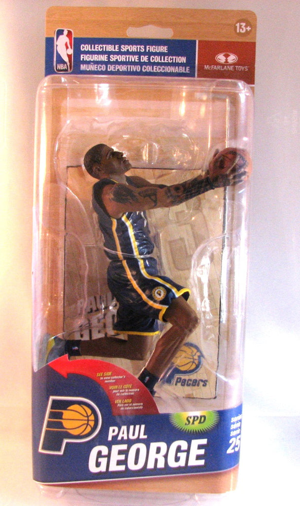 Paul George Indiana Pacers McFarlane NBA Series 25 Variant #/1500