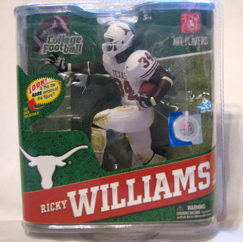 Ricky Williams Texas Longhorns McFarlane NCAA Series 4 Variant