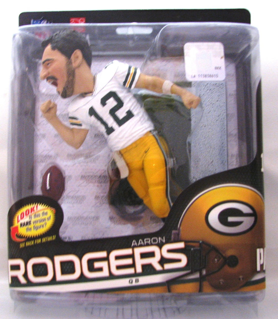 Aaron Rodgers Green Bay Packers McFarlane NFL Series 34 Variant #/3000