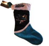 "San Jose Sharks 17"" Christmas Stocking"